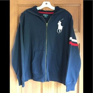 Polo by Ralph Lauren Zip Up Sweatshirt